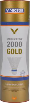 Victor Nylon Shuttle 2000 Gold 6er Dose