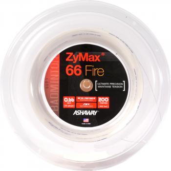 ASHAWAY ZyMax 66 Fire Power 200 Meter Coil white