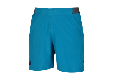 Babolat Performance Short 7'' MEN / Mosaic Blue 3/4 Face