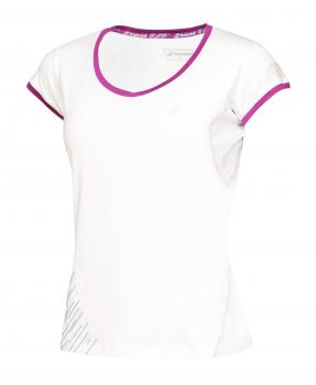 Babolat Cap Sleeves Performance Women white front