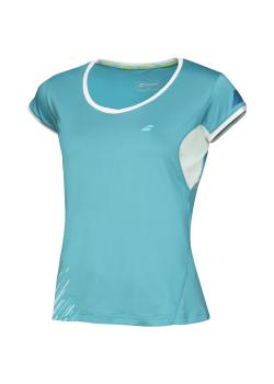 Babolat Cap Sleeves Performance Women blue front