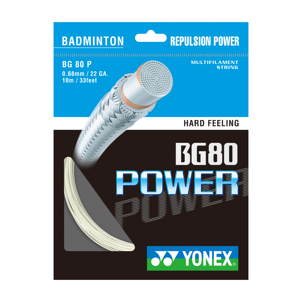 Yonex BG80 Power 10 Meter Set - Racket-World.de