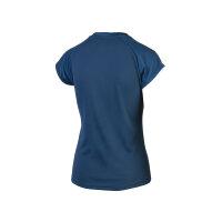 Yonex 20591 Womens Crew Neck Shirt blau XL