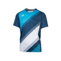 Yonex 10395 Mens Crew Neck Shirt blau L
