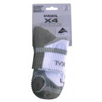 Karakal X4 Socken Ankle white