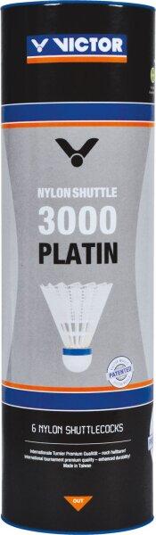 Victor Nylon Shuttle 3000 Platin 6er Dose