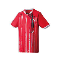 Yonex Junior Crew Neck Shirt J130 - 125-135 Crystal Red