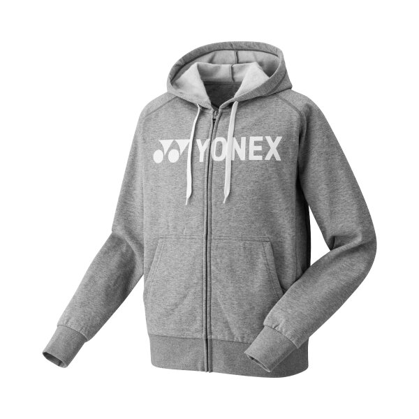 Yonex Zip Hoodie YM0018 grau