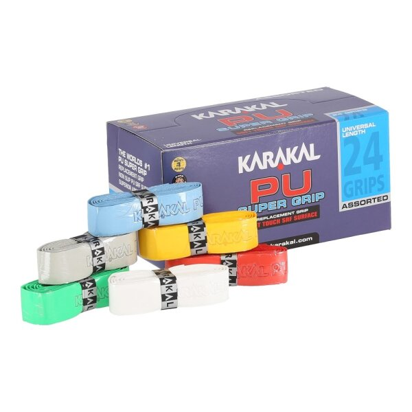 Karakal Super PU Grip gemischt 24er Karton