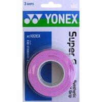 Yonex Super Grap AC-102 3er Pack french pink
