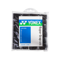 Yonex Super Grap AC-102 12er Pack schwarz