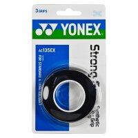 Yonex Strong Grap AC135 3er Pack schwarz