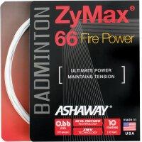 Ashaway ZyMax 66 Fire Power 10 Meter Set