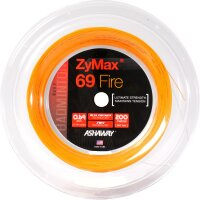 Ashaway Zymax 69 Fire Orange 200 Meter